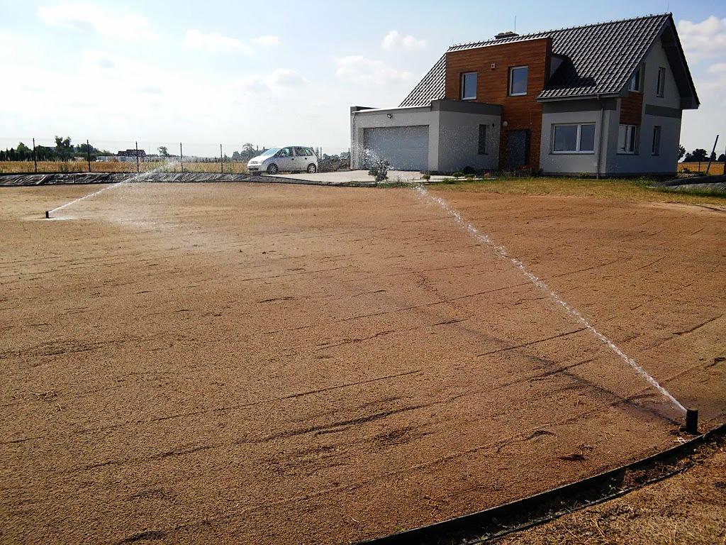 nawadnianie trawnik siany